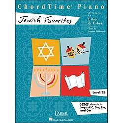 Faber Music Chordtime Jewish Favorites - Faber Piano (420225)