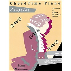 Faber Music Chordtime Piano Classics Book Level 2B - Faber Piano (420129)