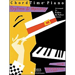 Faber Music Chordtime Piano Ragtime & Marches Level 2B Book - Faber Piano (420204)