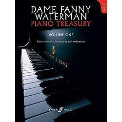 Faber Music Dame Fanny Waterman - Piano Treasury Volume One Advanced Book (12-0571537162)