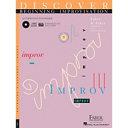 Faber Music Discover Beginning Improvisation Primer Book - Faber Piano (420160)