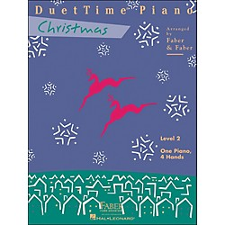 Faber Music Duettime Piano Christmas Level 2 One Piano Four Hands - Faber Piano (420147)