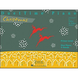 Faber Music Duettime Piano Christmas Primer Level One Piano Four Hands - Faber Piano (420134)