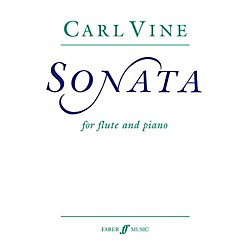 Faber Music Flute Sonata for Flute By Carl Vine Book (12-0571514723)