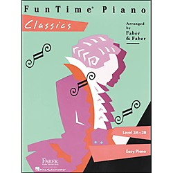 Faber Music Funtime Piano Classics Level 3A-3B For Easy Piano - Faber Piano (420131)
