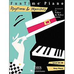 Faber Music Funtime Piano Ragtime And Marches Level 3A-3B Easy Piano - Faber Piano (420117)