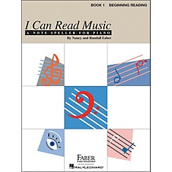 Faber Music I Can Read Music Book 1 Note Speller For Piano Beginning Reading - Faber Piano (420157)