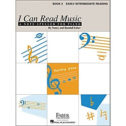 Faber Music I Can Read Music Book 3 - Early Intermediate Reading - Faber Piano (420233)