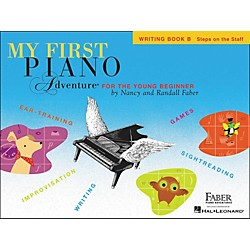 Faber Music My First Adventure Writing Book B For The Young Beginner - Faber Piano (420262)