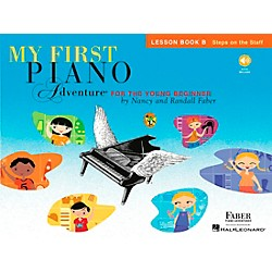 Faber Music My First Piano Adventure Lesson Book B with CD (420261)