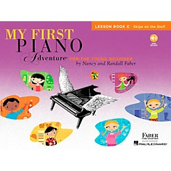 Faber Music My First Piano Adventure Lesson Book C (Skips On The Staff) - Faber Piano (420263)