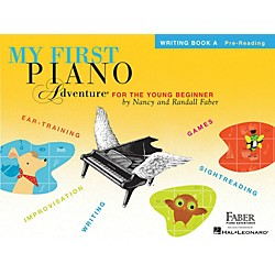 Faber Music My First Piano Adventure Writing Book A Pre-Reading (420260)