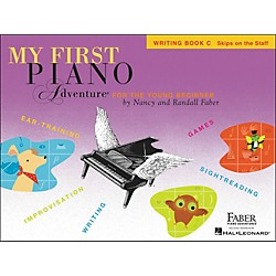 Faber Music My First Piano Adventure Writing Book C (Skips On The Staff) - Faber Piano (420264)