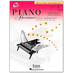 Faber Music Piano Adventures Book And CD Gold Star Performance Level 1 - Faber Piano (420256)