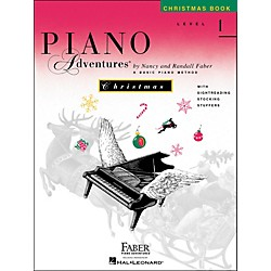 Faber Music Piano Adventures Christmas Book Level 1 - Faber Piano (420206)