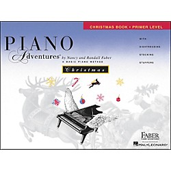 Faber Music Piano Adventures Christmas Book Primer Level - Faber Piano (420205)