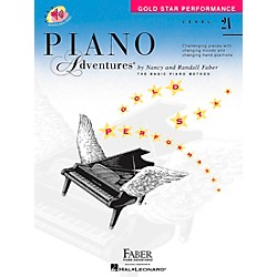Faber Music Piano Adventures Gold Star Performance Level 2A Book/CD - Faber Piano (420257)