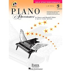 Faber Music Piano Adventures Gold Star Performance Level 2B Book/CD - Faber Piano (420258)
