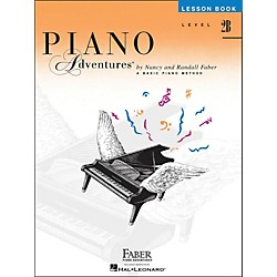 Faber Music Piano Adventures Lesson Book Level 2B (420177)
