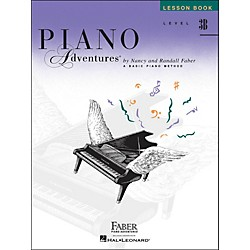 Faber Music Piano Adventures Lesson Book Level 3B (420220)