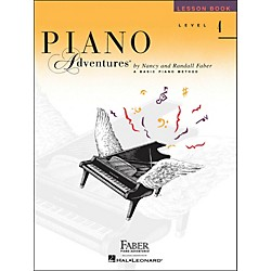 Faber Music Piano Adventures Lesson Book Level 4 (420183)