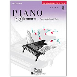 Faber Music Piano Adventures Performance Book Level 3B (420222)