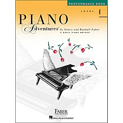 Faber Music Piano Adventures Performance Book Level 4 (420185)
