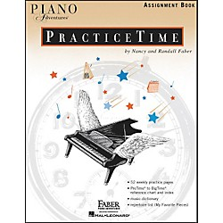 Faber Music Piano Adventures Practice time assignment Book - Faber Piano (420217)
