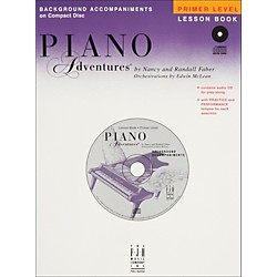Faber Music Piano Adventures Primer Level Lesson CD With Practice And Performance Tempos - Faber Piano (420068)