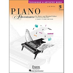 Faber Music Piano Adventures Technique & Artistry Book Level 2B (420192)