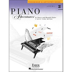 Faber Music Piano Adventures Technique & Artistry Book Level 3B - Faber Piano (420240)