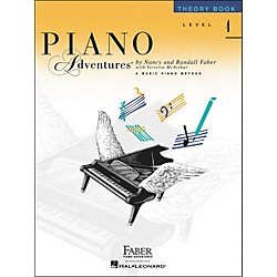 Faber Music Piano Adventures Theory Book Level 4 - Faber Piano (420184)