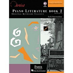 Faber Music Piano Literature Book 2 - Developing Artist Original Keyboard Classics Book/CD - Faber Piano (420143)