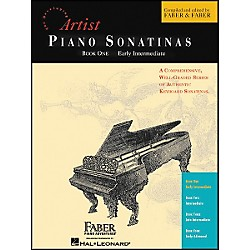 Faber Music Piano Sonatinas Book 1 Early Intermediate - Faber Piano (420199)