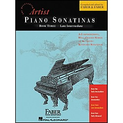 Faber Music Piano Sonatinas Book 3 Late Intermediate - Faber Piano (420201)