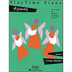 Faber Music Playtime Piano Hymns Level 1 5 Finger Melodies - Faber Piano (420109)
