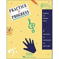 Faber Music Practice & Progress Lesson Notebook - Assignment And Evaluation Record - Faber Piano (420133)