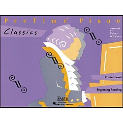 Faber Music Pretime Piano Classics Book Primer Level For Beginning Reading - Faber Piano (420126)