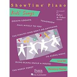 Faber Music Showtime Kids' Songs Level 2A Faber Piano Adventures (420149)