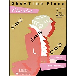 Faber Music Showtime Piano Classics Level 2A Elementary Playing - Faber Piano (420161)