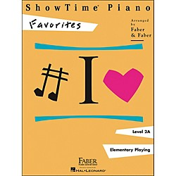 Faber Music Showtime Piano Favorites Book Level 2A - Faber Piano (420144)