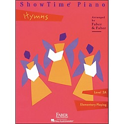 Faber Music Showtime Piano Hymns Book Level 2A Elementary Playing - Faber Piano (420145)