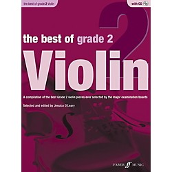 Faber Music The Best of Grade 2 Violin Book & CD (12-0571536921)