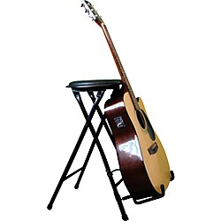 Farley's StagePlayer II - Guitarist Stool and Stand with Footrest (97-30002F)