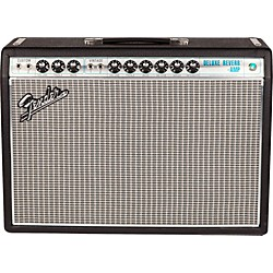 Fender '68 Custom Deluxe Reverb 22W 1x12 Tube Guitar Combo Amp with Celestion G12V-70 Speaker (2274000000)