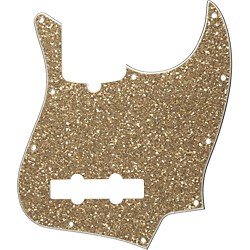Fender 10-Hole Standard Jazz Bass Pickguard Aged Glass Sparkle (099-2179-000)