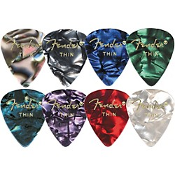 Fender 351 Premium Celluloid Guitar Picks (198-0351-843)