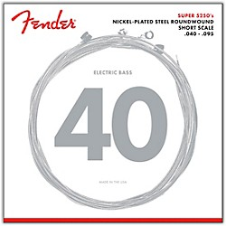 Fender 5250XL Nickel-Plated Steel Short Scale Bass Strings - Extra Light (073-5250-402)