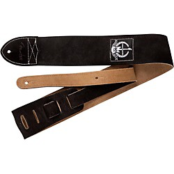 Fender 60th Anniversary Black Leather Guitar Strap (0990617000)
