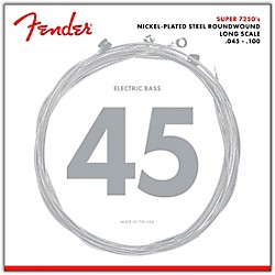 Fender 7250ML Super Bass Nickel-Plated Steel Long Scale Bass Strings - Medium Light (0737250405)